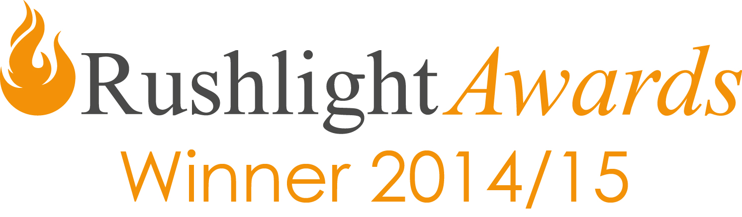 Rushlight Award winner!